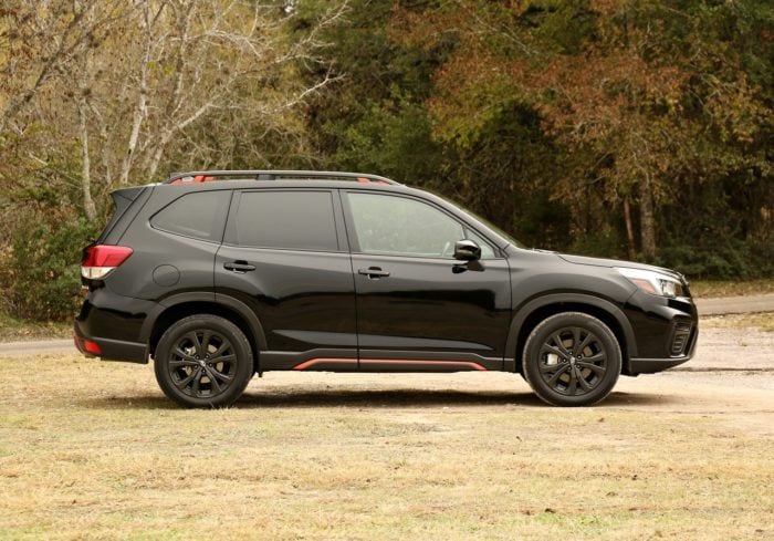 See the body of the 2019 Subaru Forester Sport