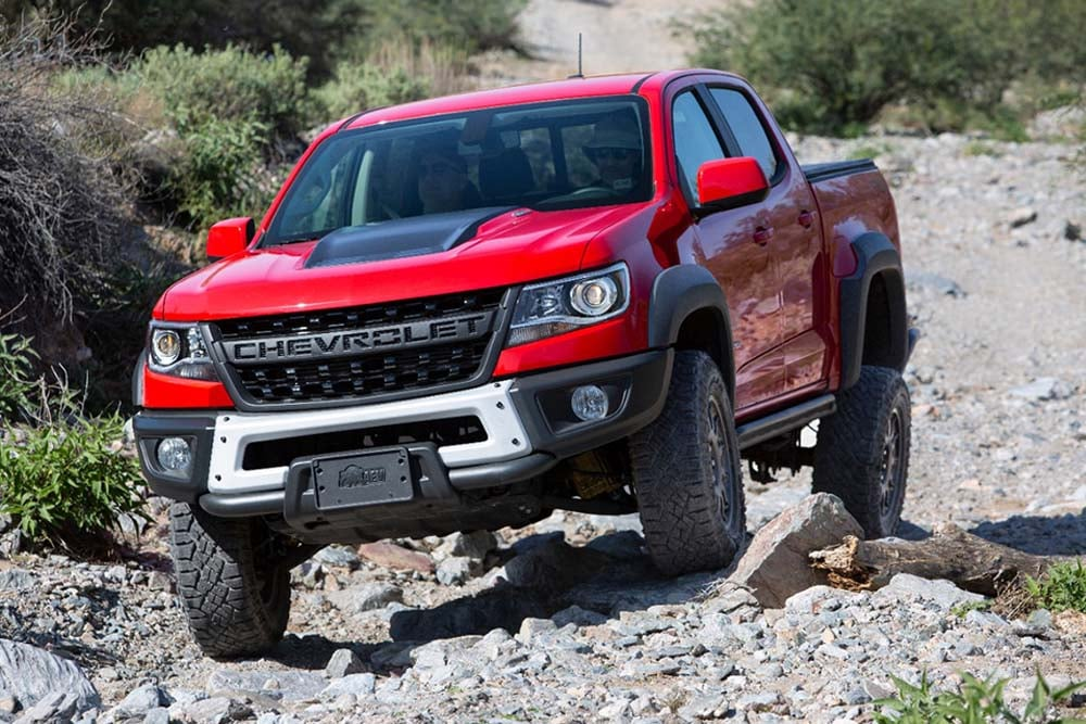 See the body of the 2020 Chevrolet Colorado ZR2 Bison