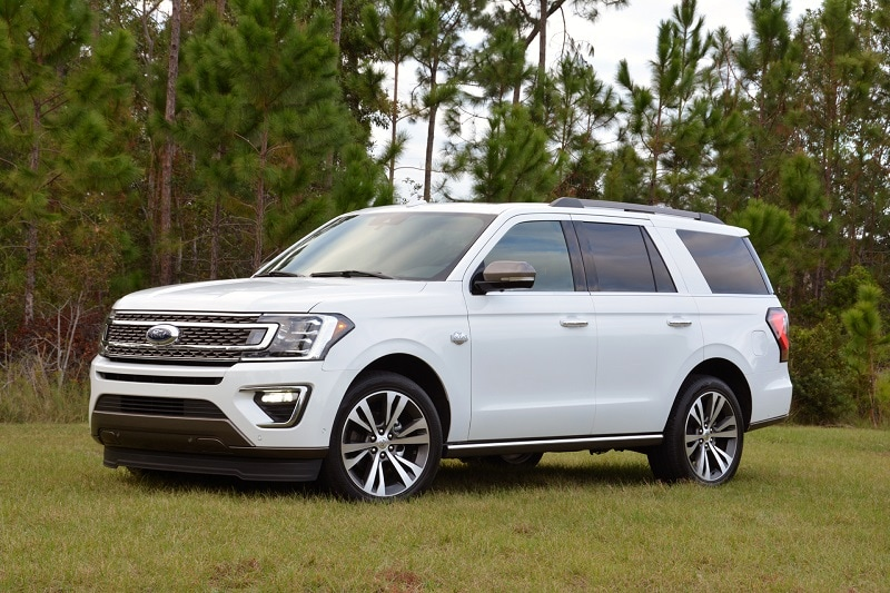 See the body of the 2020 Ford Expedition King Ranch