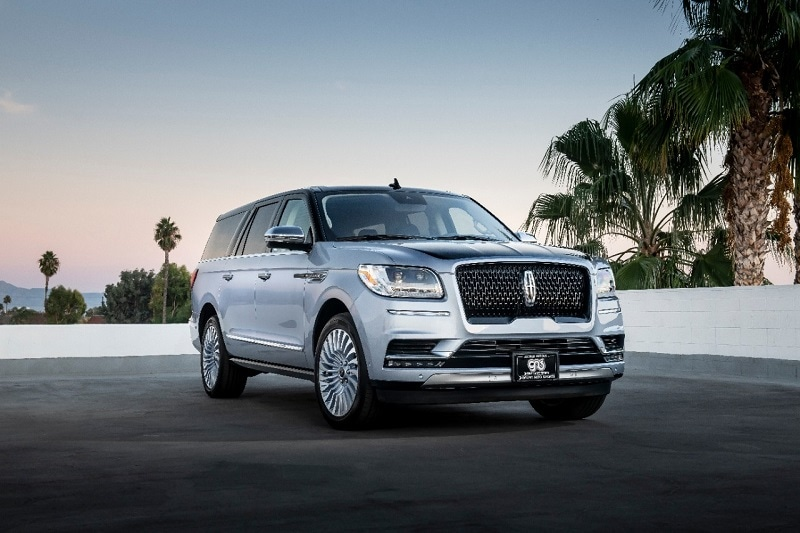 Imag eof a Lincoln Navigator vehicle