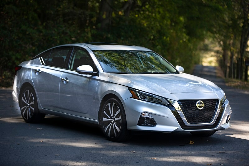 The Nissan Altima is one of the more interesting AWD-capable sedans available right now.