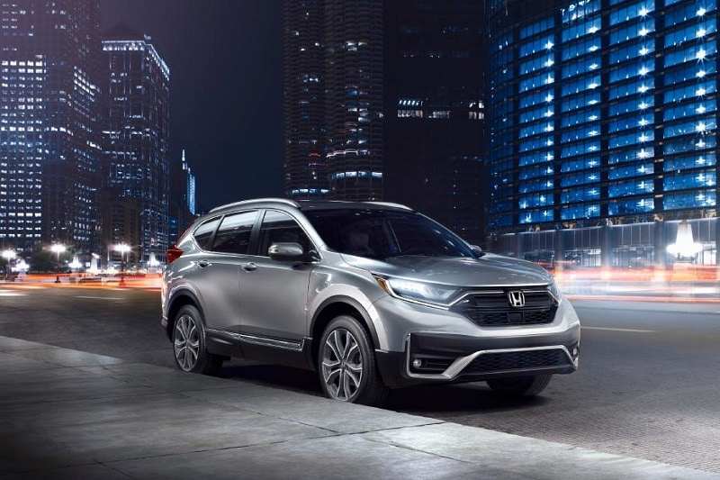 The CR-V comes standard with Honda Sensing,  Honda's suite of driver-assistance features.