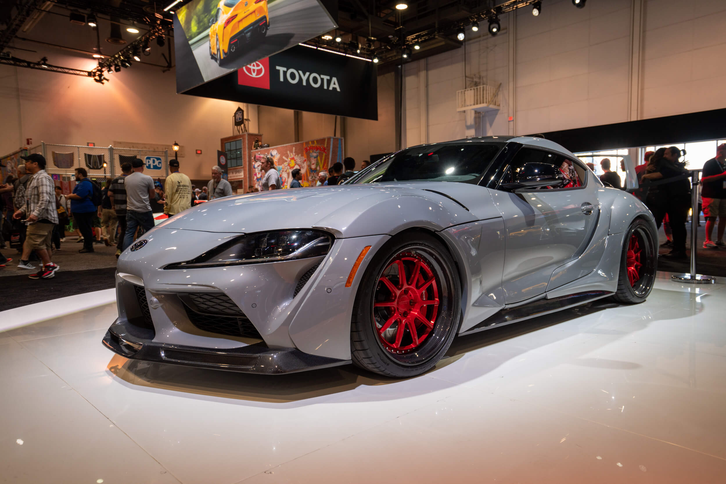 The 2020 Toyota Supra was out in force at SEMA 2019