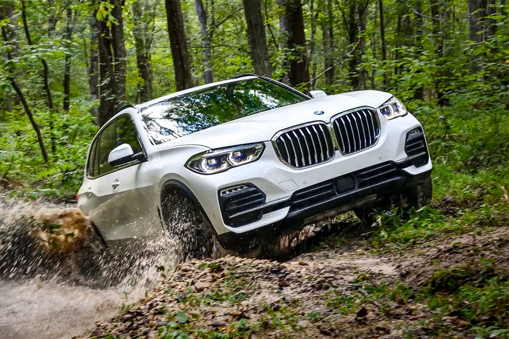 View of the BMW X4