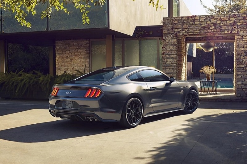 Exterior view of the 2021 Ford Mustang GT