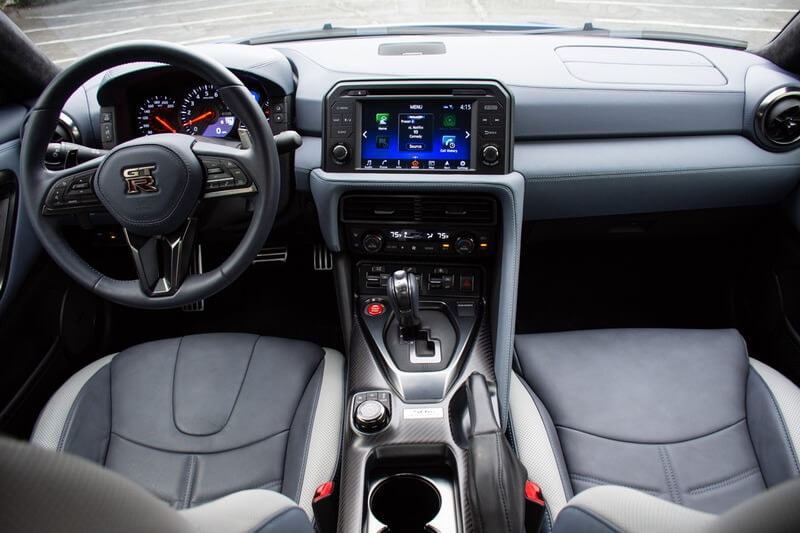 See the interior of the 2020 Nissan GT-R