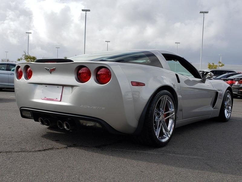 Fat rubber means the Z06 is 3.3 inches wider than a standard C6 coupe.