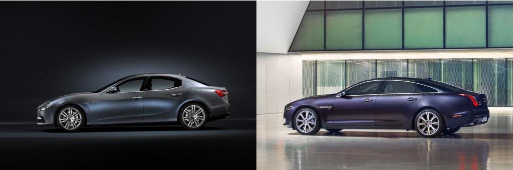 Maserati Ghibli vs Jaguar XJ - 3