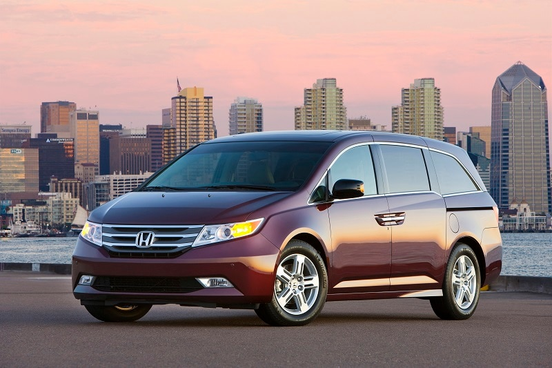 The  Honda Odyssey is a great used car buy