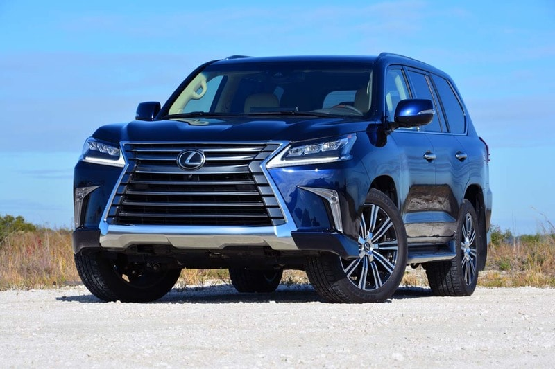 See the body of the 2020 Lexus LX 570