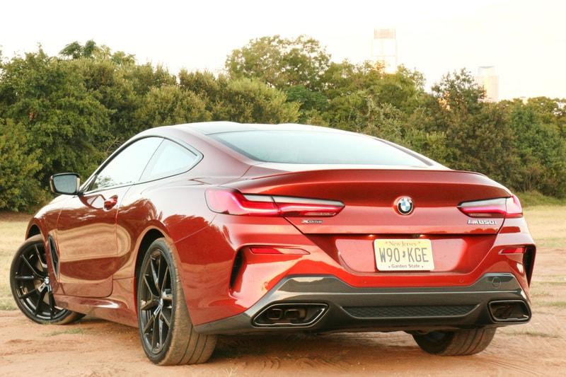 BMW, M850i, Rear