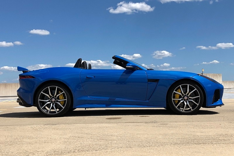 Jaguar's SVO team took what was already a great sports car and made it sharper, lighter, and faster.