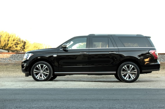 See the exterior of the 2020 Ford Expedition King Ranch MAX 4X4