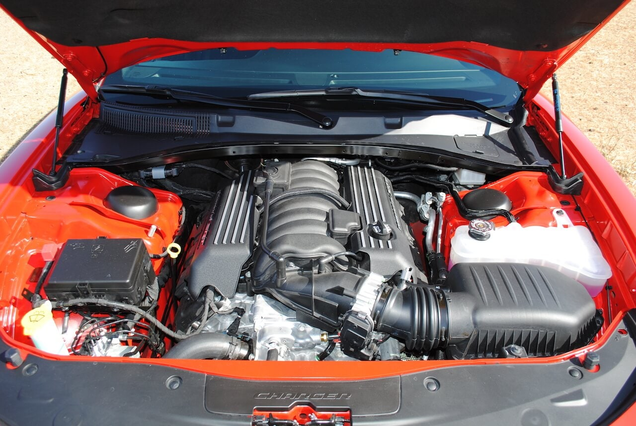 Dodge, Charger, Scat Pack, Widebody, Engine