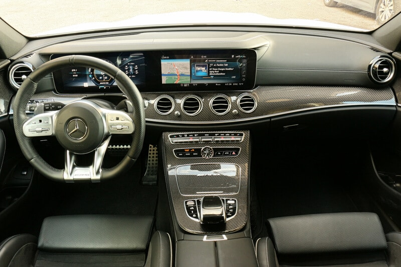 Mercedes, AMG, E 63, Wagon, Interior
