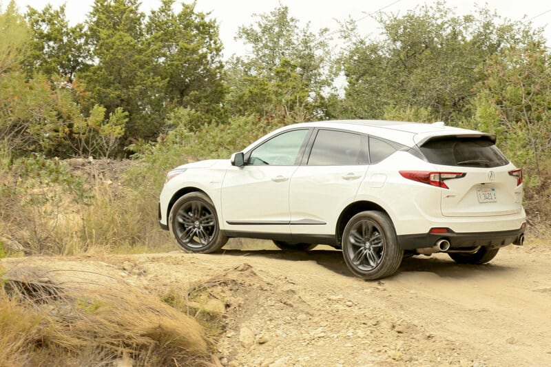 The Acura RDX is fine off road, but its trick all wheel drive system is really meant to carve corners.