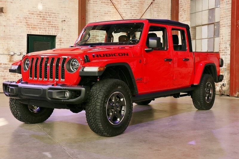 Exterior view of Jeep vehicle