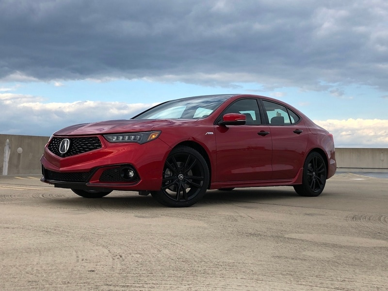 Image of an Acura TLX vehicle