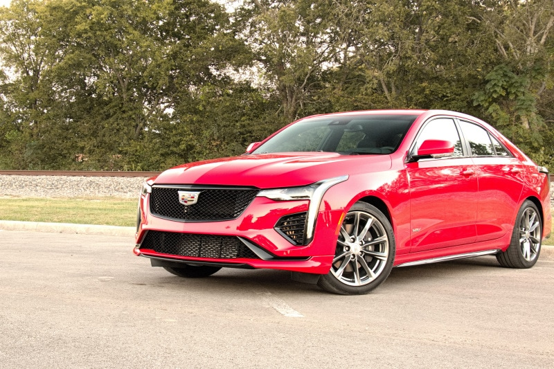 See the body of the 2020 Cadillac CT4-V