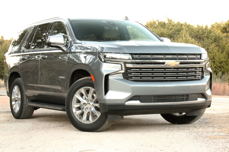 See the body of the 2021 Chevrolet Tahoe Premier 4x4