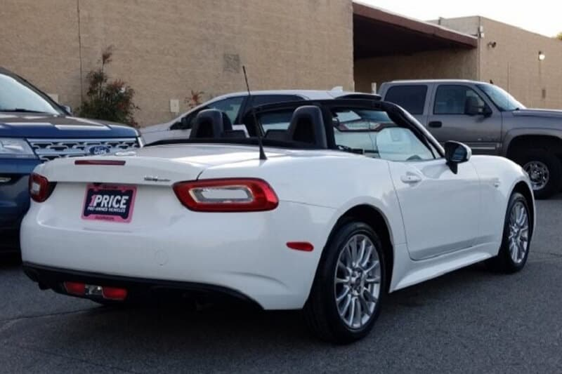 The FIAT 124 Spider is a great first sports car