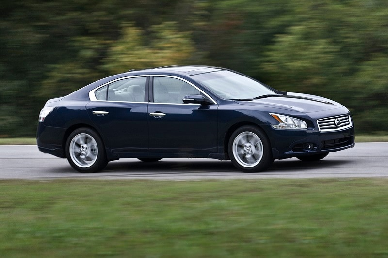 The Nissan Maxima is a great used car buy