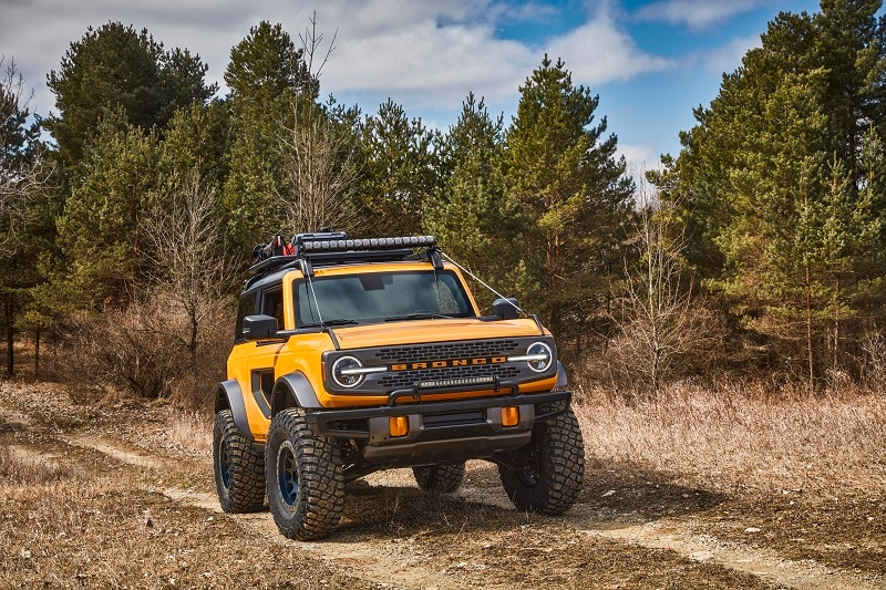 2021 Ford Bronco Safety