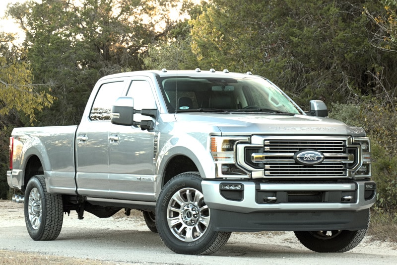 See the body of the 2020 Ford F-350 Limited 4X4