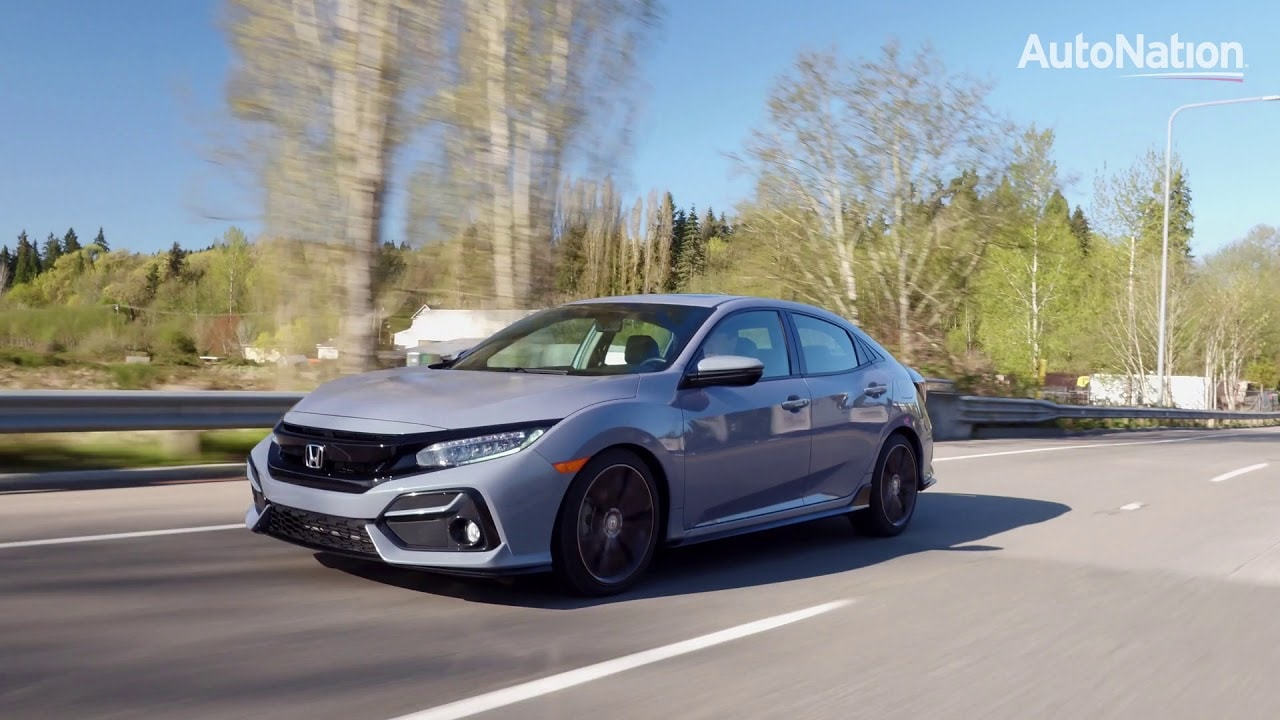 Front view of the Honda Hatchback
