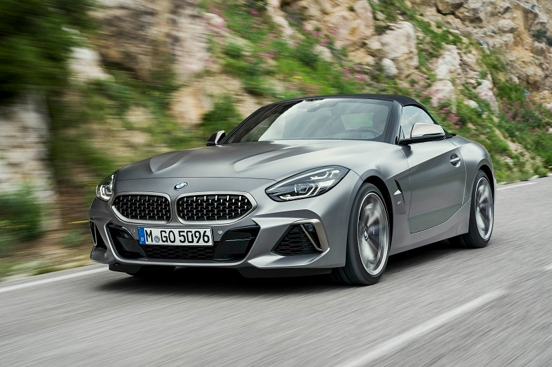 The BMW Z4 is an amazing luxury roadster