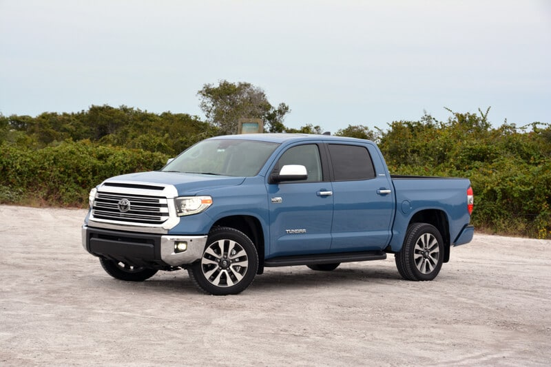 See the exterior of the 2020 Toyota Tundra Limited CrewMax 4x4