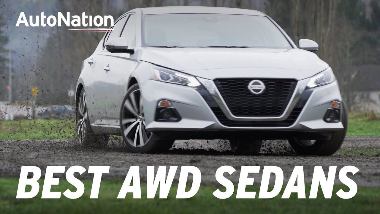 Exterior view of a great AWD sedan you can buy today