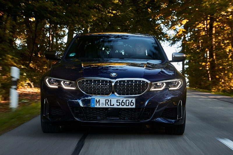Exterior view of the 2020 BMW M340i