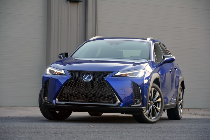 See the exterior of the 2019 Lexus UX 250h Review