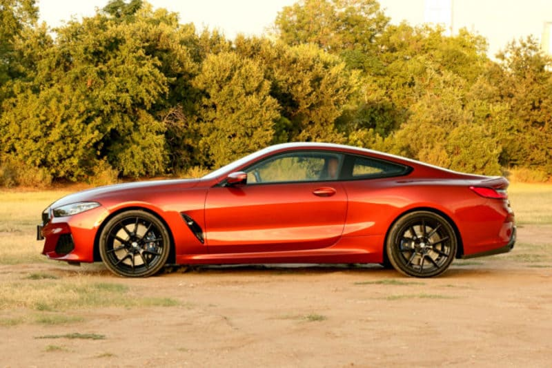 2019 BMW M850i, Profile