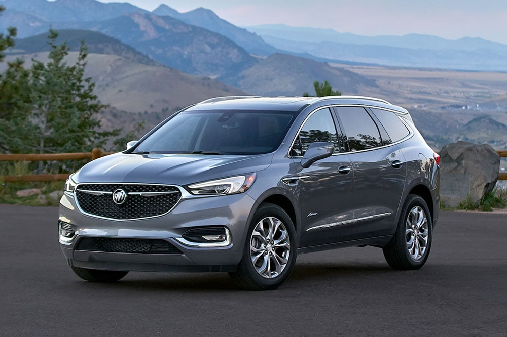 See the body of the 2020 Buick Enclave Avenir