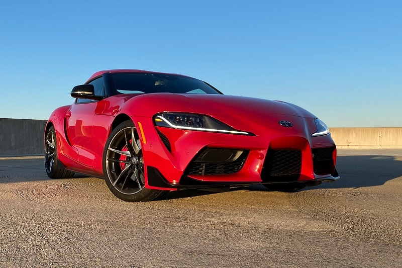 View of the 2020 Toyota Supra