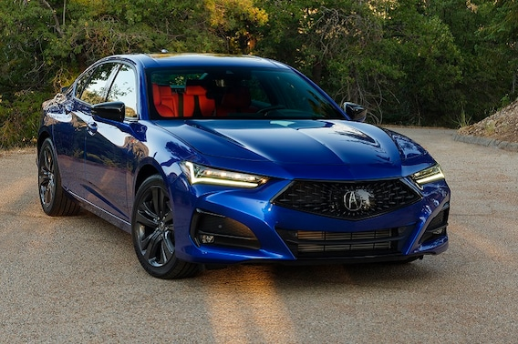 See the body of the 2021 Acura TLX SH-AWD A-SPEC