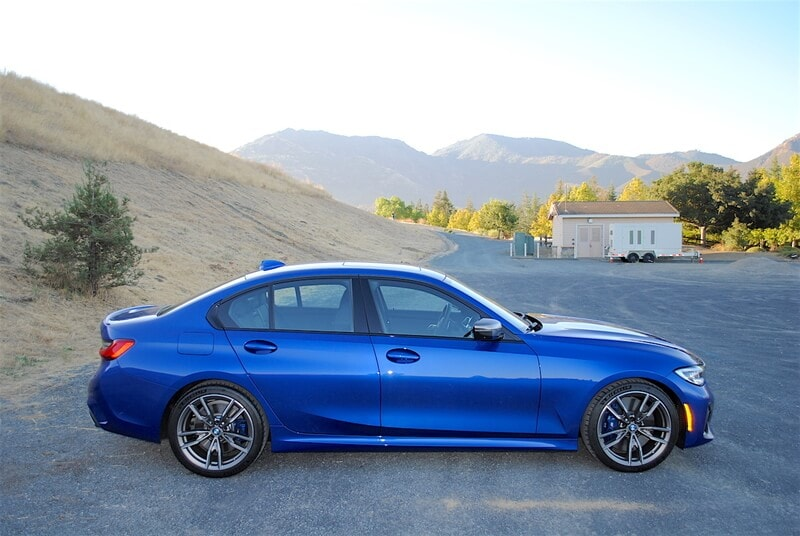The BMW M340i features the bold looks of the 3-Series, and adds M-inspired elements.