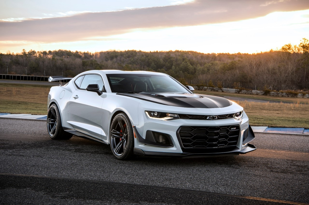 Read an article about the Chevrolet Camaro ZL1 LE