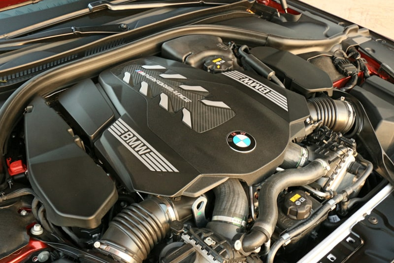 BMW M850i, Engine, Turbo