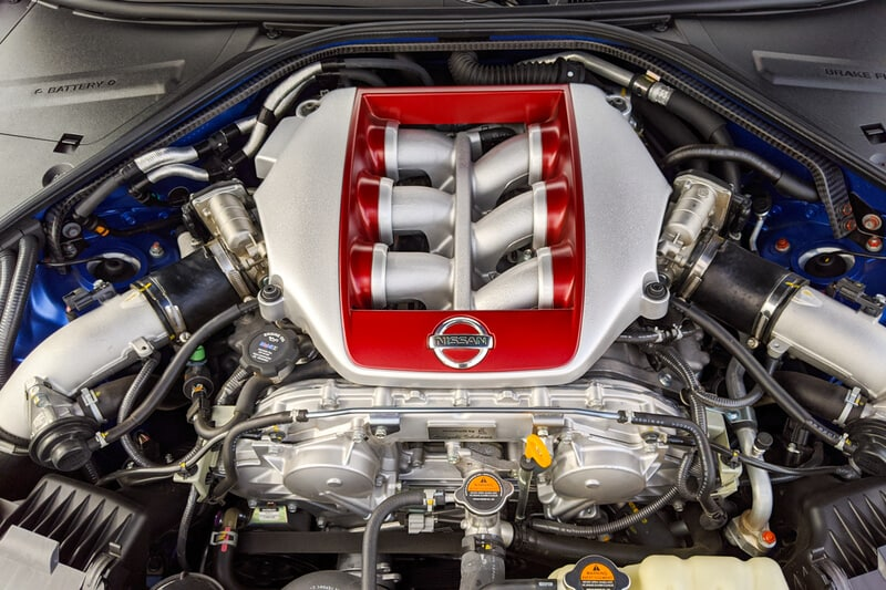 See the engine of the 2020 Nissan GT-R