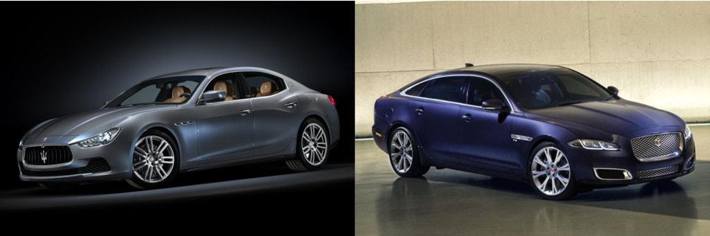 Maserati Ghibli vs Jaguar XJ - 1