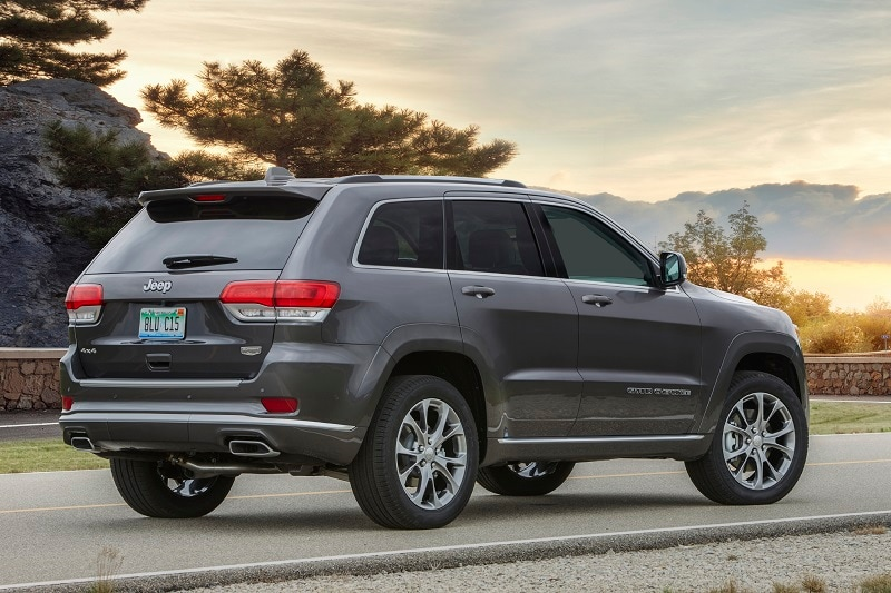 The Jeep Summit trim has lots of bells and whistles
