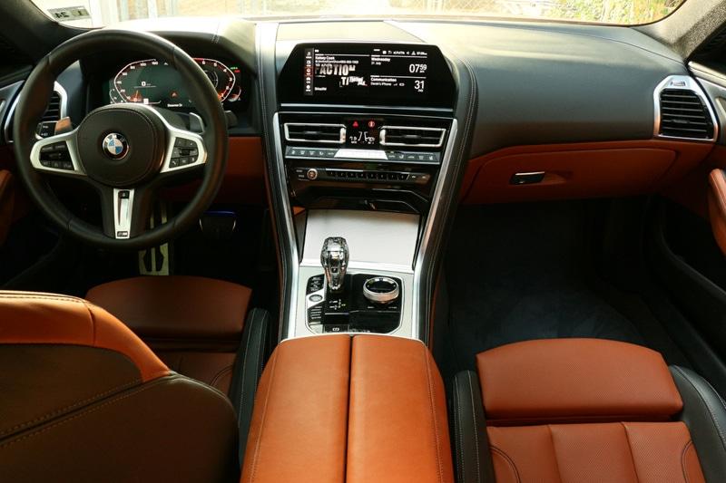 BMW, M850i, Interior