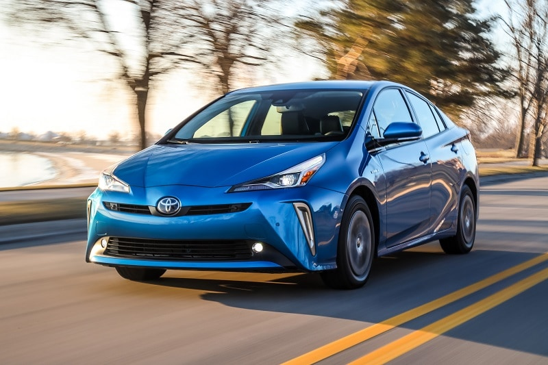 See the body of the 2020 Toyota Prius XLE AWD-e