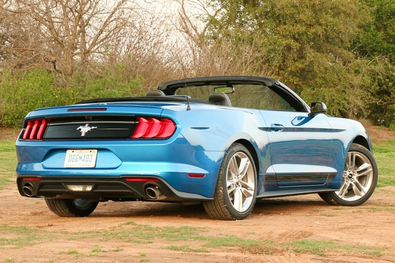 Ford Mustang EcoBoost rear shot