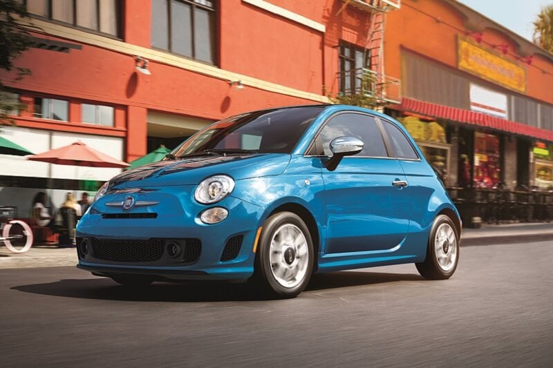 The FIAT 500 doesn't come with a ton of standard features, but you can't beat the Italian style.