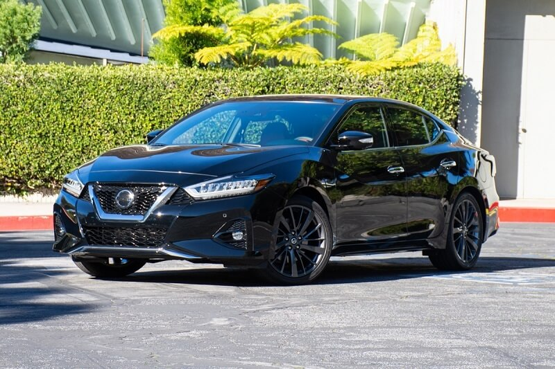 See the body of the 2020 Nissan Maxima