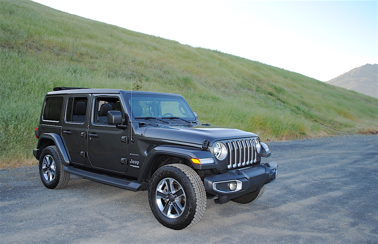 See the exterior of the 2019 Jeep Wrangler Sahara